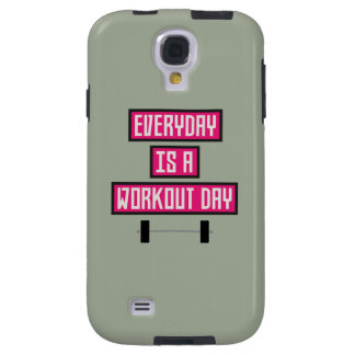 Everyday Workout Day Z52c3 Galaxy S4 Case