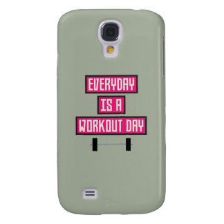 Everyday Workout Day Z52c3 Galaxy S4 Cases
