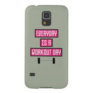 Everyday Workout Day Z52c3 Galaxy S5 Cover