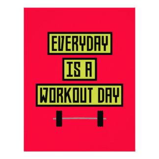 Everyday Workout Day Z81fo 21.5 Cm X 28 Cm Flyer