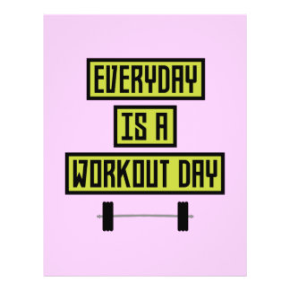 Everyday Workout Day Z81fo Flyer