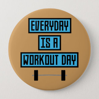 Everyday Workout Day Z852m 10 Cm Round Badge