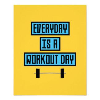 Everyday Workout Day Z852m 11.5 Cm X 14 Cm Flyer
