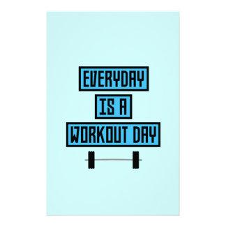 Everyday Workout Day Z852m 14 Cm X 21.5 Cm Flyer
