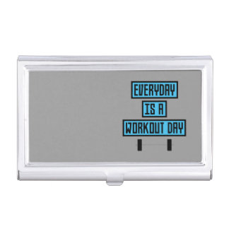 Everyday Workout Day Z852m Business Card Holder