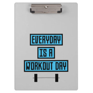Everyday Workout Day Z852m Clipboard