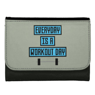 Everyday Workout Day Z852m Leather Wallet For Women