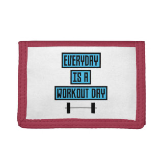 Everyday Workout Day Z852m Trifold Wallets