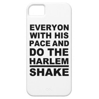 everyon with his pace iPhone 5 cover