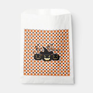 Everyone Happy? Halloween Favor Bags