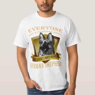 Everyone has a guardian angel, german shepherd T-Shirt