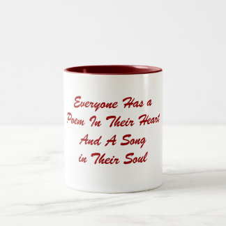 Everyone Has a Poem Mug