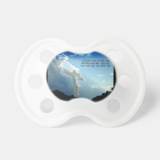 Everyone hates God until you need HIM Baby Pacifier