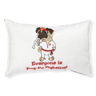 Everyone Is Pug-Fu Fighting! Dog Bed