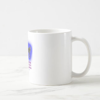 Everyone is taught that angels have wings. coffee mug