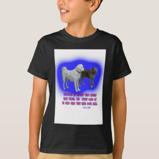 Everyone is taught that angels have wings. T-Shirt