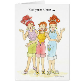 Everyone Knows Best Friends Card