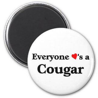 Everyone loves a Cougar Magnet