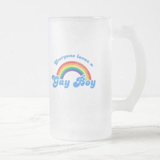 Everyone loves a Gay Boy Coffee Mug