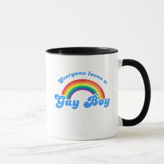 Everyone loves a Gay Boy Mug