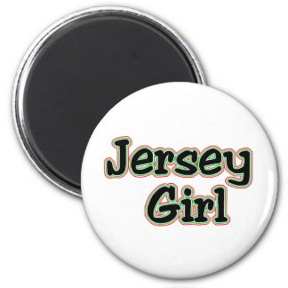 Everyone Loves a Jersey Girl 6 Cm Round Magnet