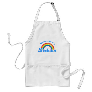 Everyone loves a Lesbian Adult Apron