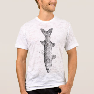 Everyone Loves A Mullet mullet fish vintage mens T-Shirt