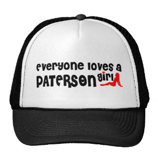 Everyone loves a Paterson girl Cap