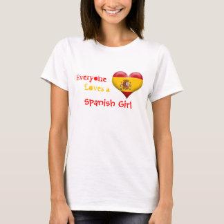 Everyone Loves a Spanish Girl T-Shirt