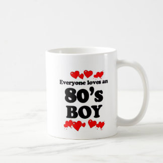 Everyone Loves An 80's Boy Coffee Mug