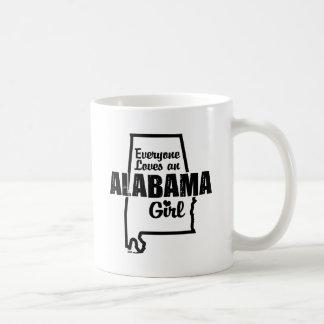 Everyone Loves An Alabama Girl Coffee Mug