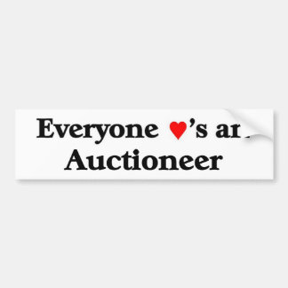 Everyone loves an Auctioneer Bumper Sticker