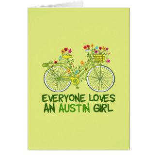 Everyone Loves an Austin Girl Card