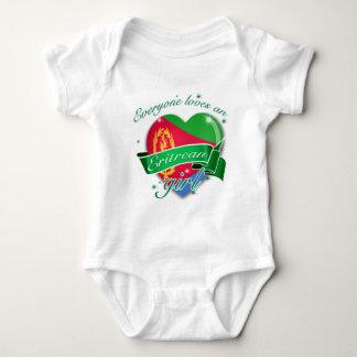 Everyone Loves An Eritrean Girl Baby Bodysuit