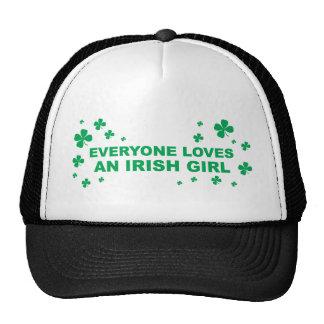 Everyone Loves An Irish Girl Cap