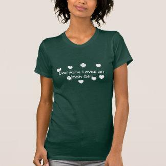 Everyone Loves An Irish Girl Tshirt