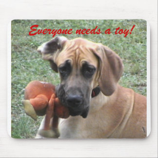 Everyone needs a toy! mouse pad