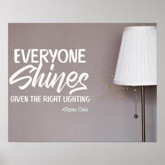 Everyone Shines Poster