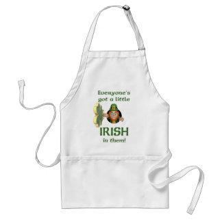 Everyone's got a little Irish Adult Apron