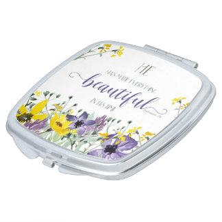 Everything Beautiful - Ecc 3:11 Vanity Mirrors