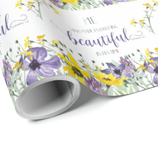 Everything Beautiful - Ecc 3:11 Wrapping Paper
