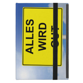 Everything becomes property sign with sky iPad mini case
