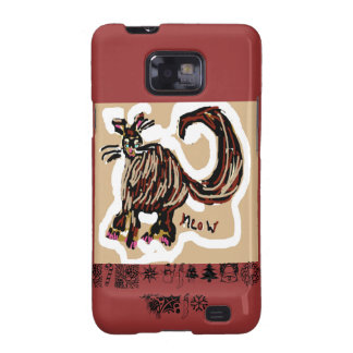 Everything Cats Design Galaxy S2 Cover