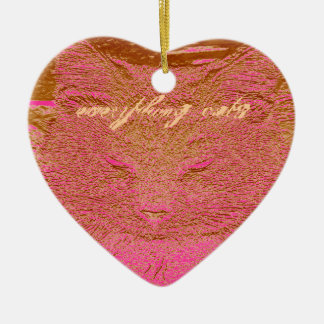 Everything Cats Design Christmas Tree Ornament