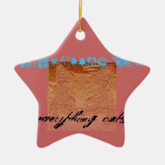 Everything Cats Design Ornament