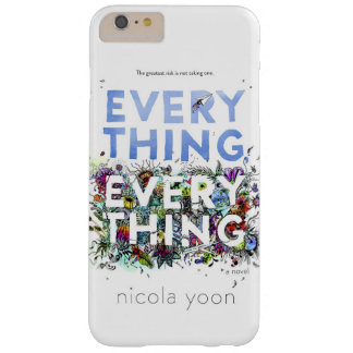 Everything, Everything bookcover case for iPhone