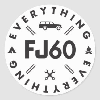 Everything FJ60 Sticker