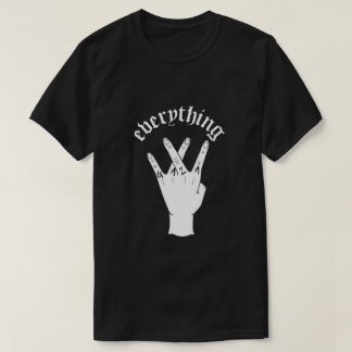Everything Gaza Black T-Shirt