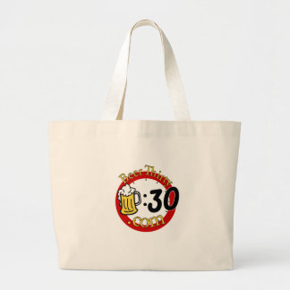 Everything great about life. jumbo tote bag