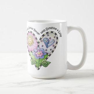 Everything Grows Better Classic White Mug